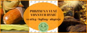 Podzim na vlně vonného dýmu v Brně @ Literární čajovna Skleněná louka