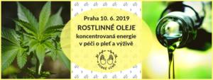 Rostlinné oleje – koncentrovaná energie pro krásu i výživu @ Kosmetika hrou Praha